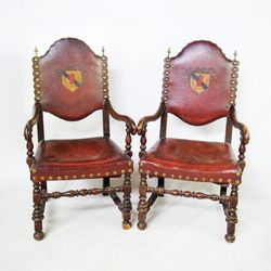 Photo Of Bluff St Props   Atlanta, GA, United States. Set Of 8. Set Of 8 Is  Italian Abbey Chairs