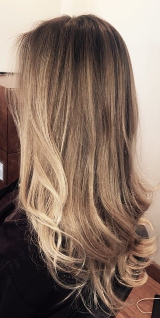 blonde ombre sombre balayage beachy surfer color lee yelp. Black Bedroom Furniture Sets. Home Design Ideas