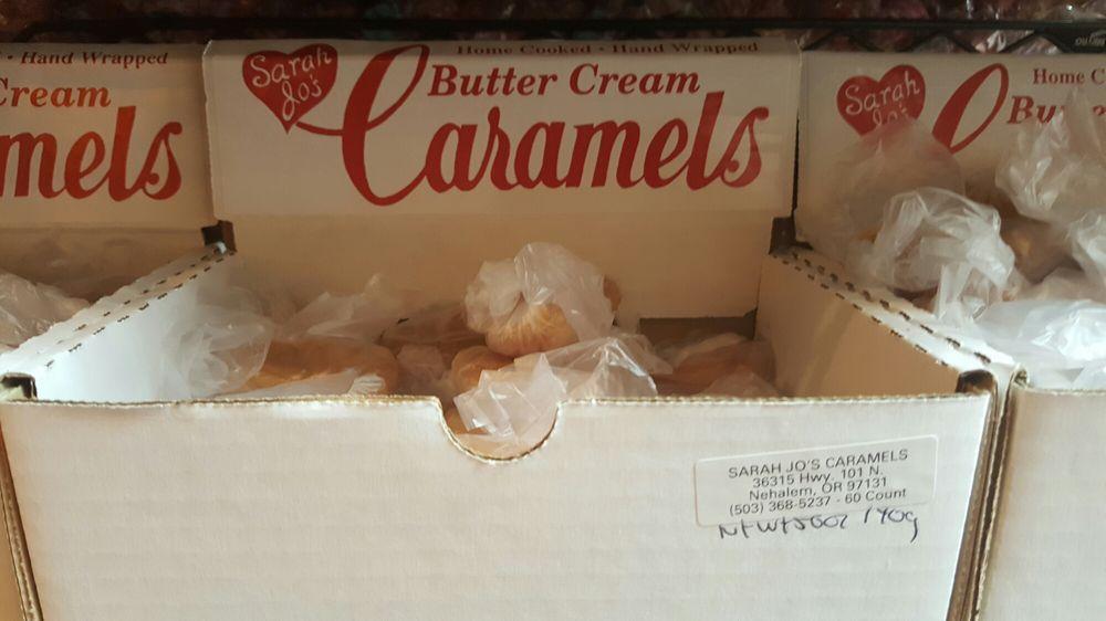 Sarah Jo's Candy: 7820 Twana Ter, Nehalem, OR
