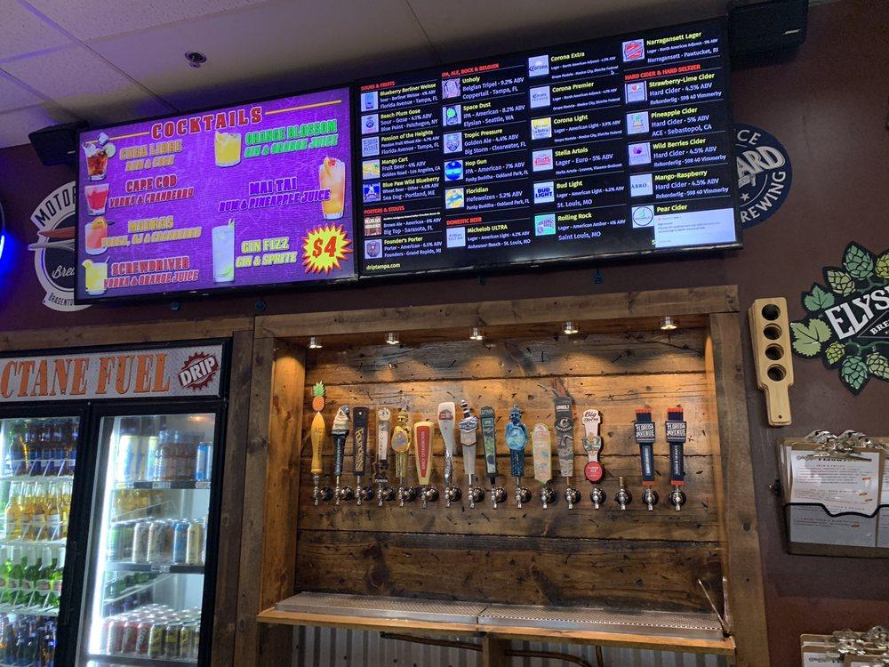 DRIP Vapor, Brew , Kratom & CBD Bar: 6166 Gunn Hwy, Tampa, FL