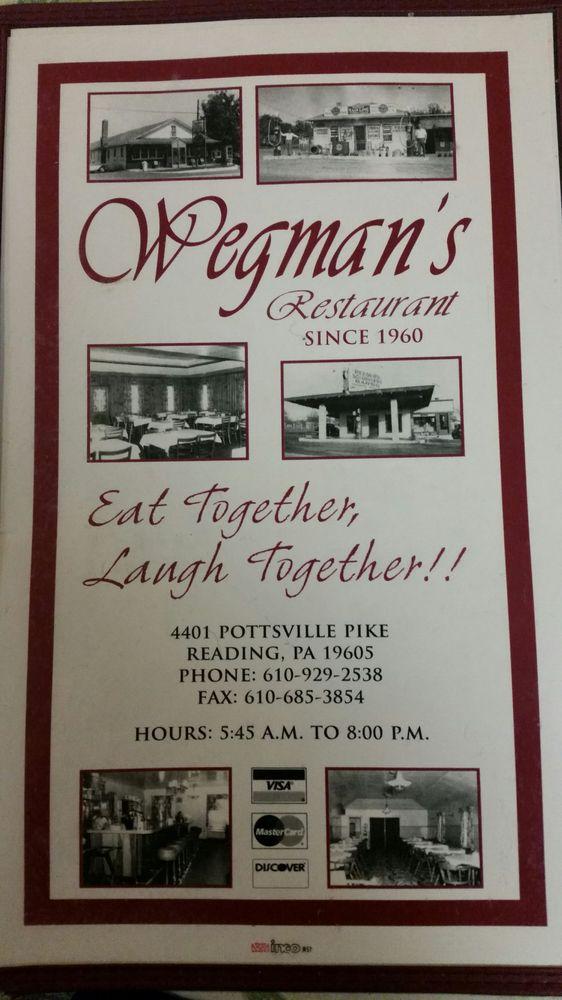 Wegman's Resturant - 4401 Pottsville Pike, Reading, PA