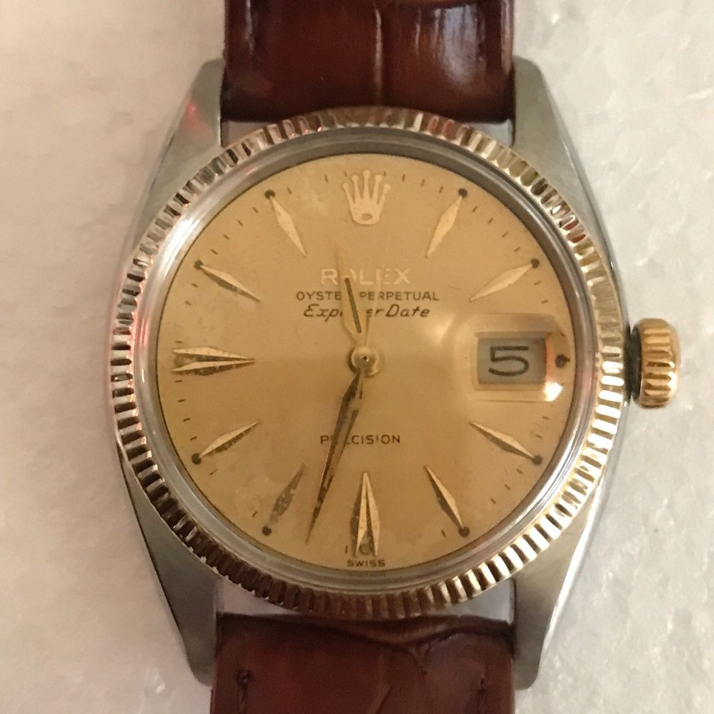 1960 Rolex explorer date 5501 from Canada  Very rare watch! - Yelp