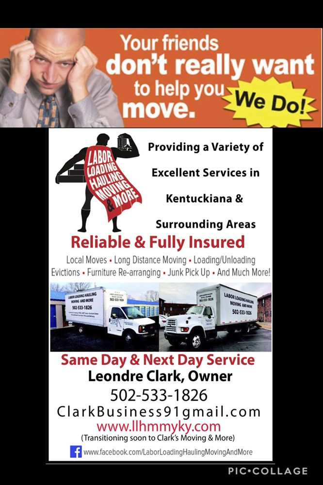 Labor Loading Hauling Moving And More: 4626 Silver Leaf Dr, Louisville, KY