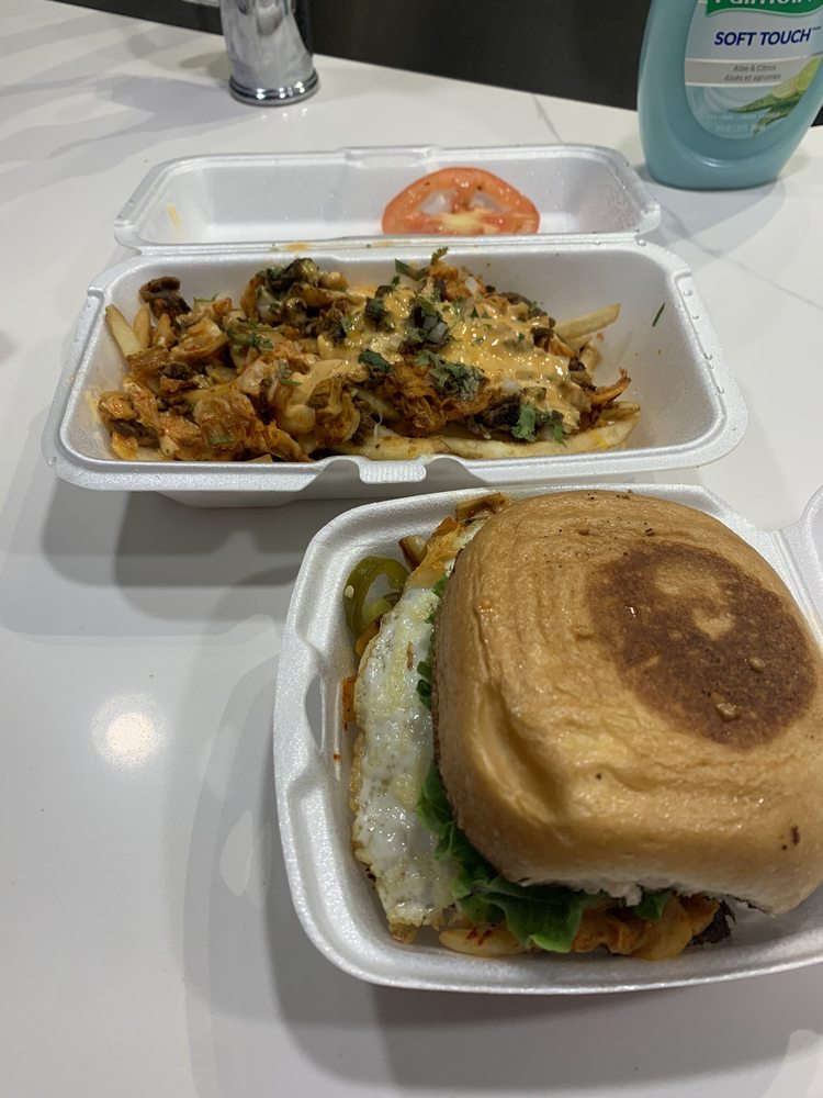 Food from LA Burger