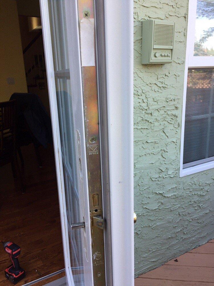 Installation Of Andersen Outswing Patio Door Lock Mechanism Yelp