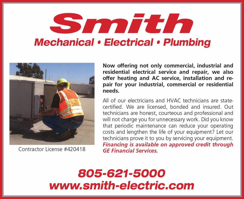 Smith Electric: 1340 W Betteravia Rd, Santa Maria, CA