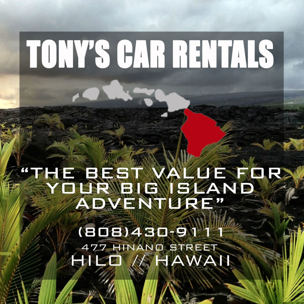 Tonys Car Rental Hilo