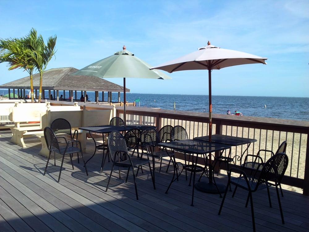 Islip Beach Restaurant The Best Beaches In World Pepperoni Pizza With Grilled En And Vegetable Panini Yelp