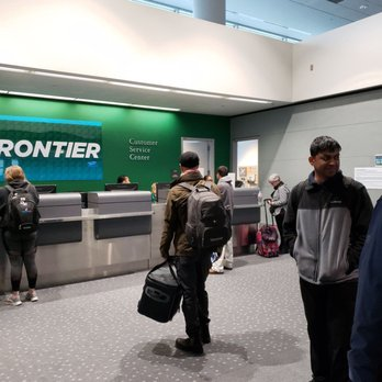 Frontier Airlines - 8500 Peña Blvd, Denver, CO - 2019 All