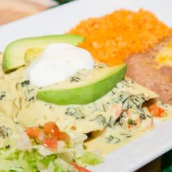 Photo Of Amigos Mexican Restaurant Dublin Oh United States Seafood Enchiladas