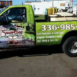 Photo Of Sharp Edge Lawn Care King Nc United States Spraying Truck