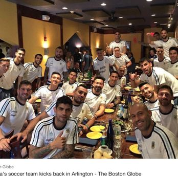 Photo Of Tango Restaurant Arlington Ma United States Argentina National Soccer Team