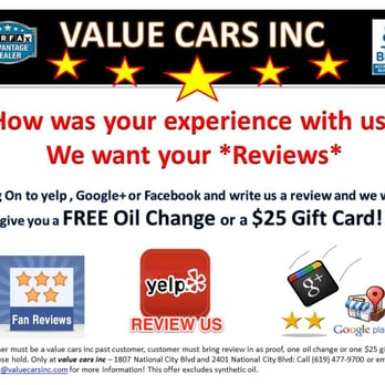 If you purchased car from us please write a review and will get you