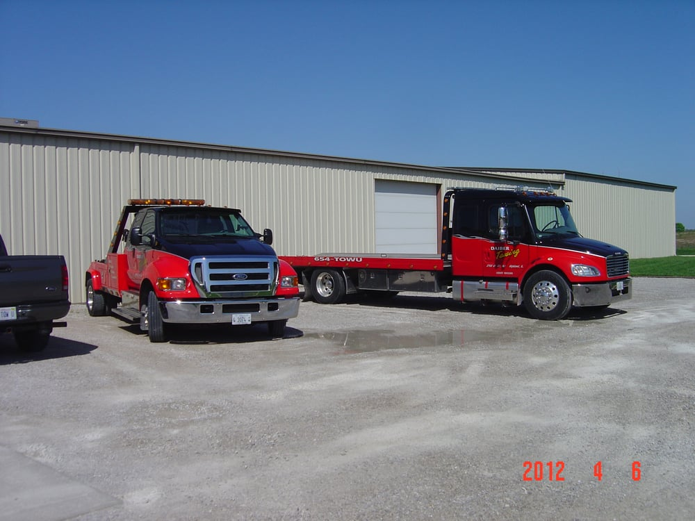 Towing business in Helvetia, IL