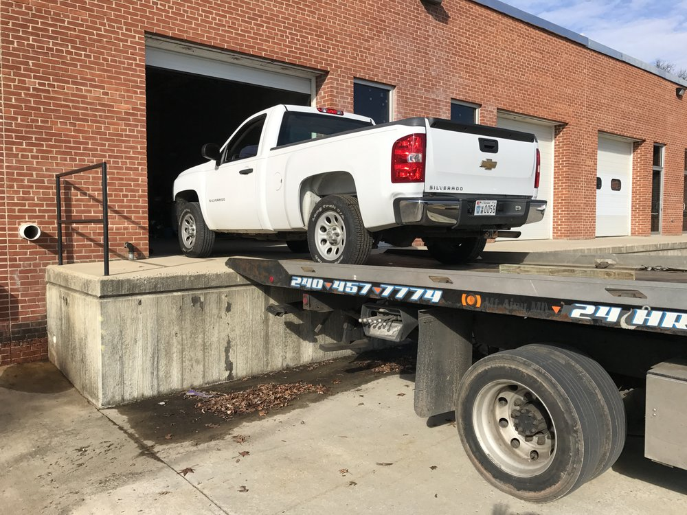 Towing business in Frederick, MD