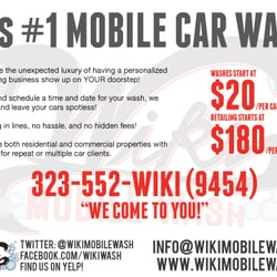 Wiki Mobile Wash - CLOSED - Car Wash - 12021 Wilshire Blvd, Sawtelle, Los Angeles, CA - Phone ...