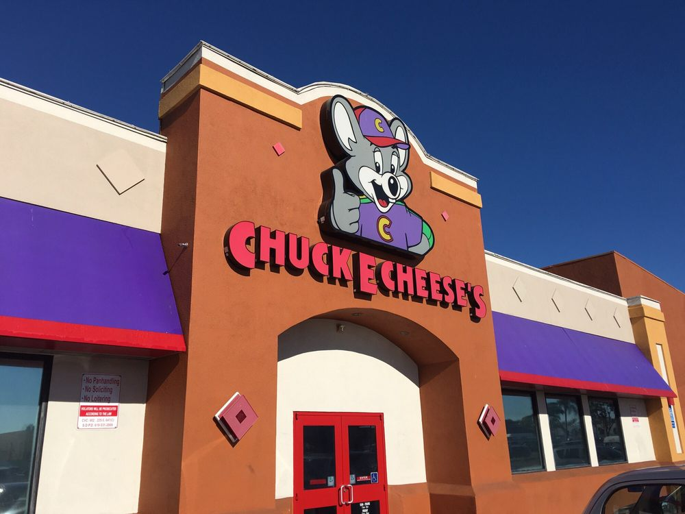chuck e cheese reservations