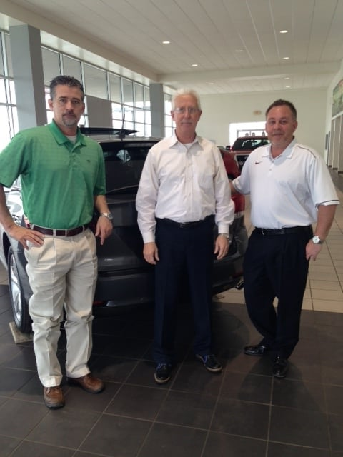 Sales Manager Larry Patton Gm Rick Hamm Gsm Chris