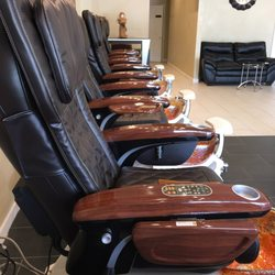 Photo Of BCBC Nails   Ocean Springs, MS, United States. Love These Chairs
