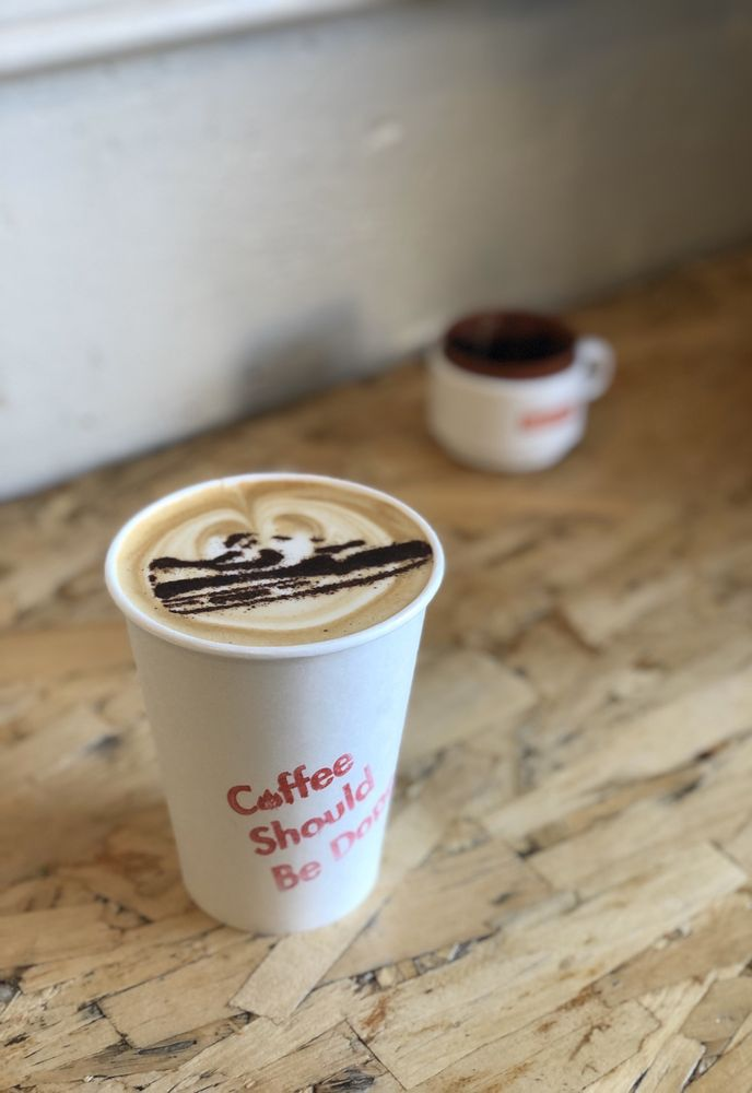 Deadstock Coffee: 408 NW Couch St, Portland, OR