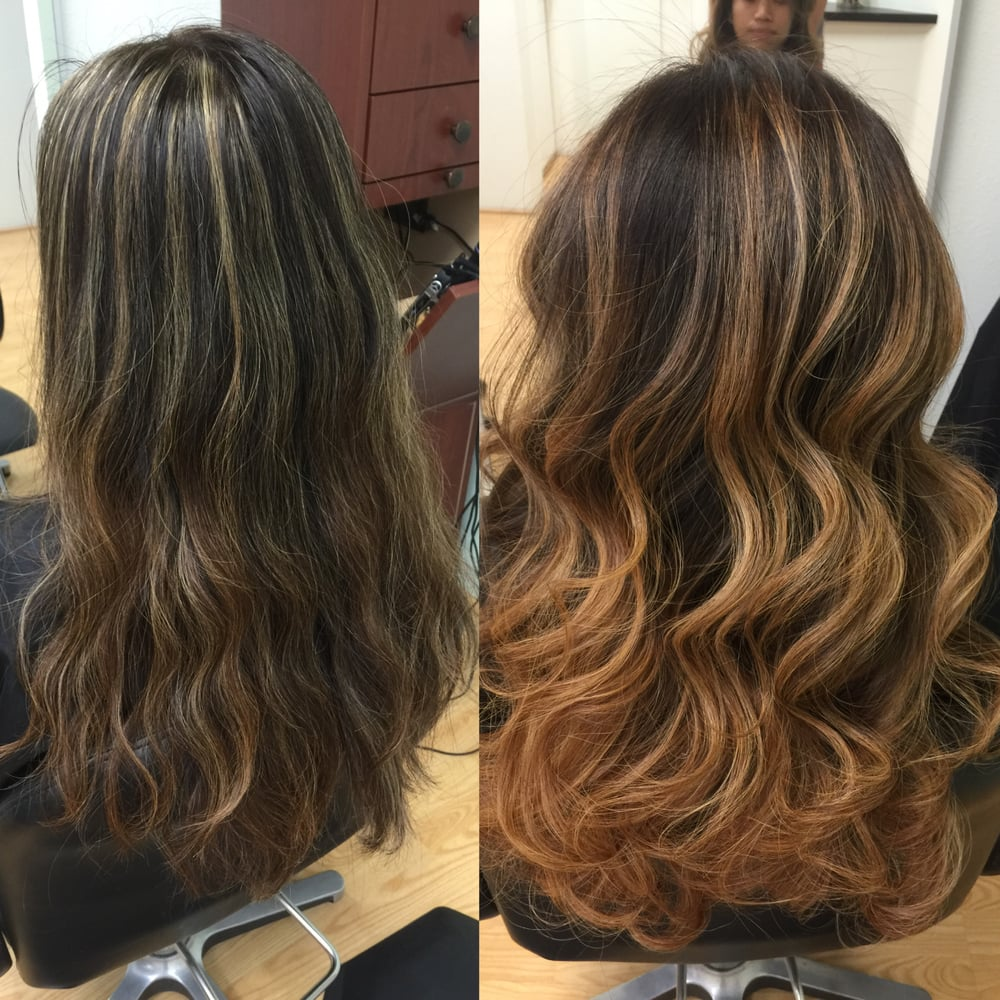 Redlands Hair Stylist Color Correction Foil Highlighting Ash Dark