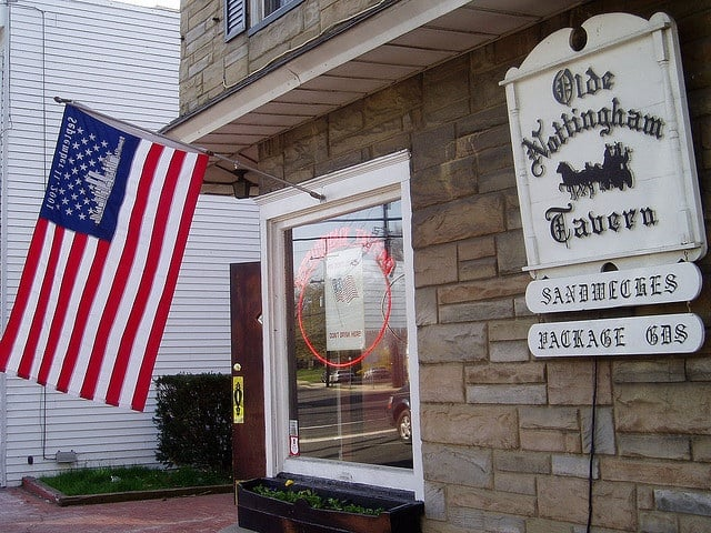 Olde Nottingham Tavern: 9 Mercer St, Hamilton Township, NJ