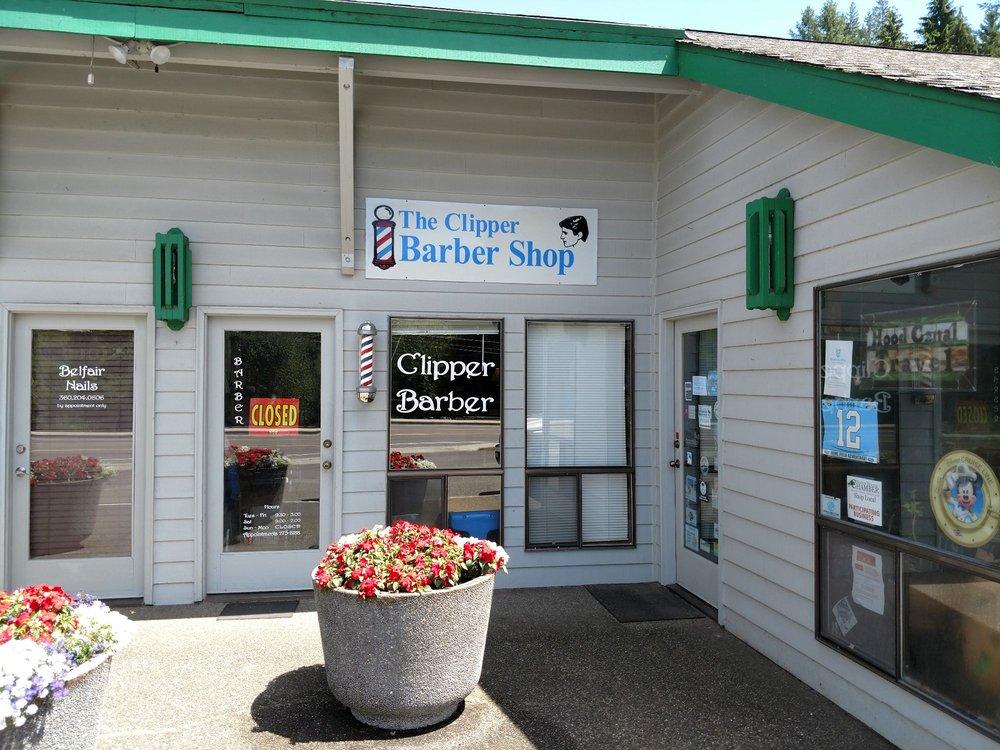 Clipper Barber Shop: 23152 NE State Rte 3, Belfair, WA