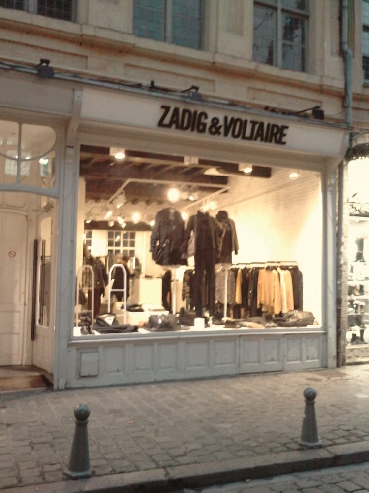 zadig voltaire women 39 s clothing 17 rue de la monnaie. Black Bedroom Furniture Sets. Home Design Ideas
