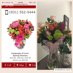 Magnolia Flower Gift Shop Florists 1324 Fort Campbell Blvd