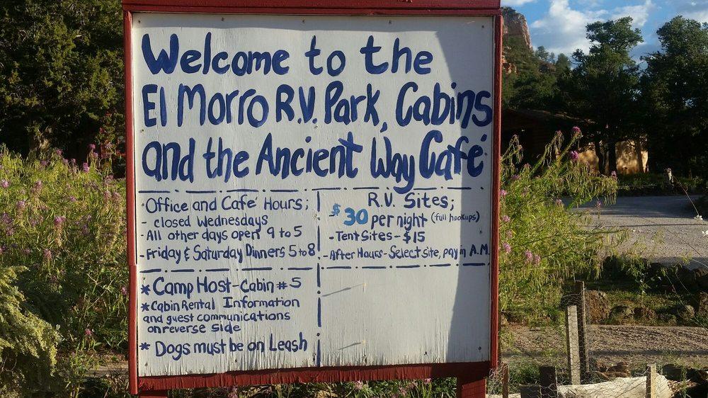 El Morro Rv Park & Cabins: 4018 Ice Caves Rd, Ramah, NM
