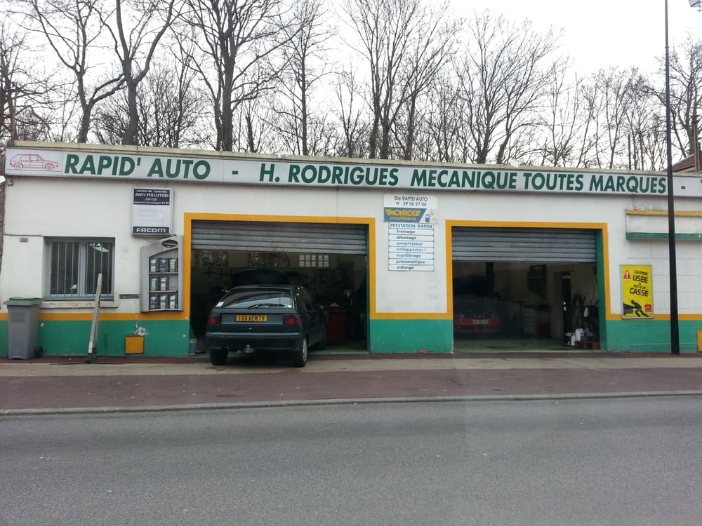 Rapid auto garages 1356 rue louis bl riot buc for Garage auto mecano buc