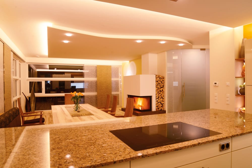 indirekte beleuchtung in k che und essbereich yelp. Black Bedroom Furniture Sets. Home Design Ideas