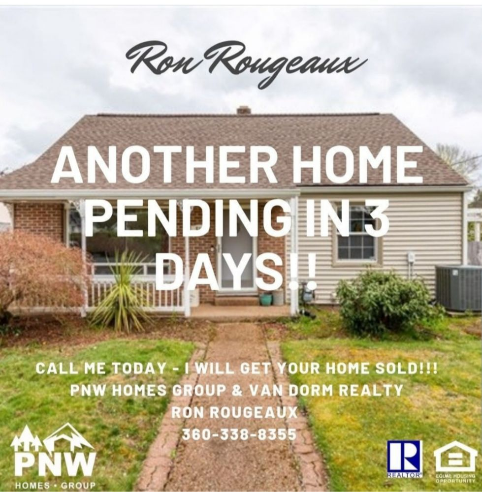 Ron Rougeaux Real Estate Broker -PNW Homes Group & Van Dorm Realty | 1530 Black Lake Blvd SW, Olympia, WA, 98502 | +1 (360) 338-8355