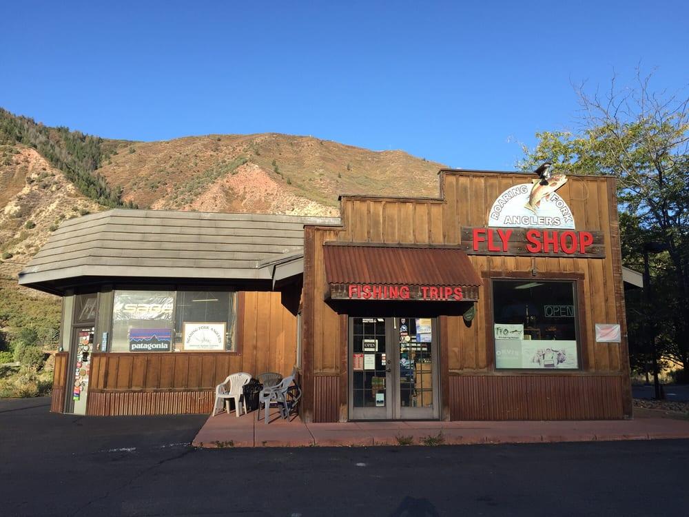 Roaring Fork Anglers: 2205 Grand Ave, Glenwood Springs, CO