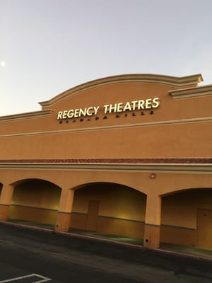 Regency Theaters 16830 Devonshire St Granada Hills, CA Movie