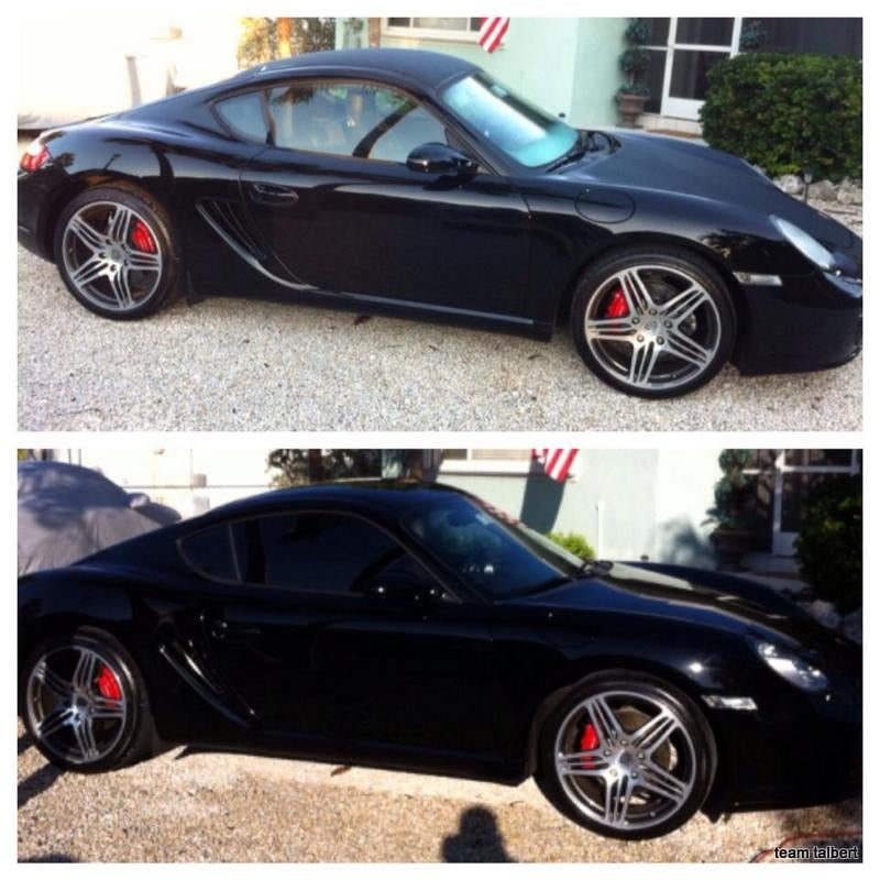 Before & After Tint Plus Wash! Awesome Job!