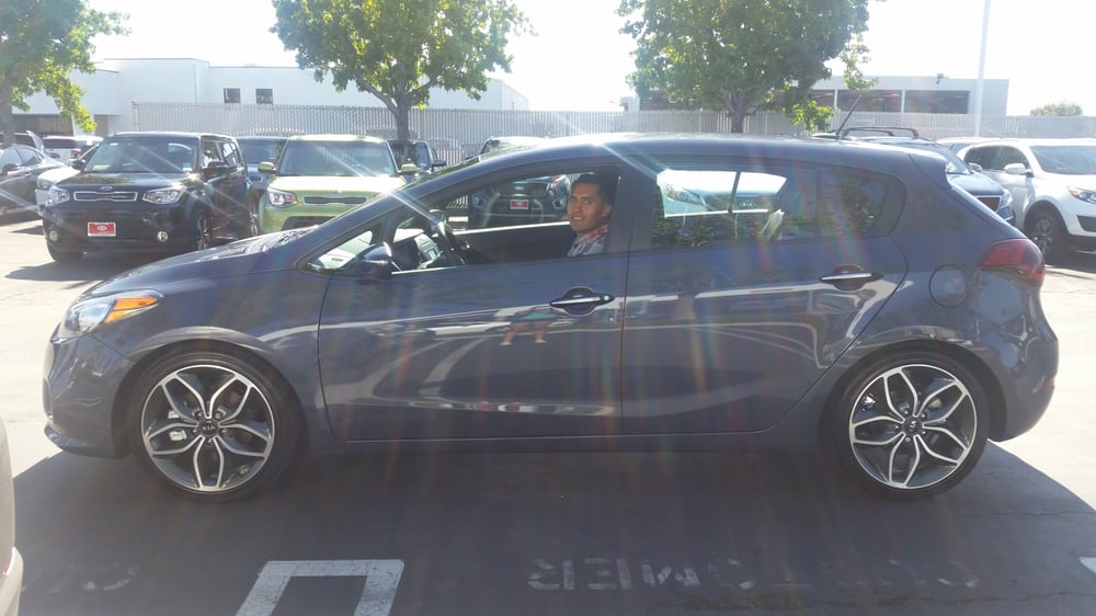 Forte5 sx in steel blue yelp for Kia motors irvine ca