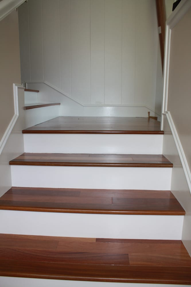 Stairs and stair skirt yelp for Right flooring