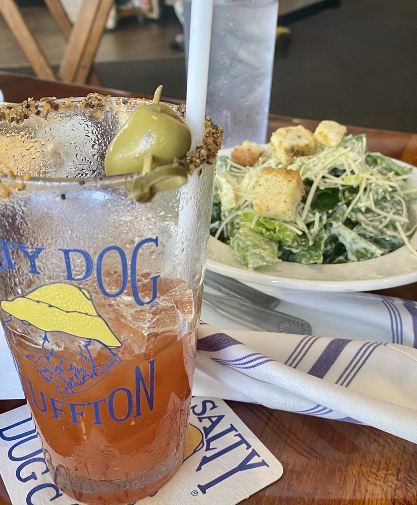 Food from Salty Dog Bluffton