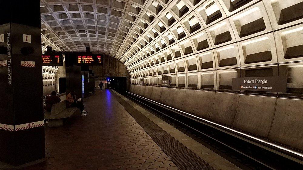 Federal Triangle Metro Station: 302 12th St NW, Washington, DC, DC