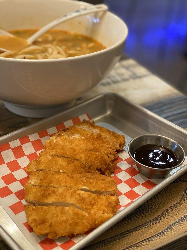 Pong's Ramen & Burger: 697 E Foothill Blvd, Claremont, CA