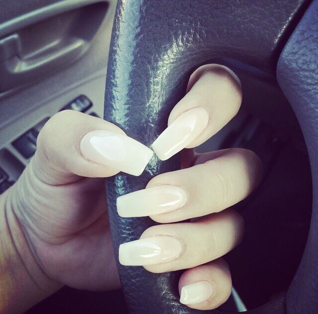 My first time with Kevin. Long Natural nails Yaaasss! - Yelp