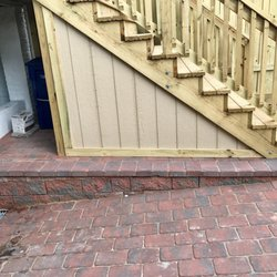 Photo Of Clinton Fence Waldorf Md United States Stairway With Waterproof Storage