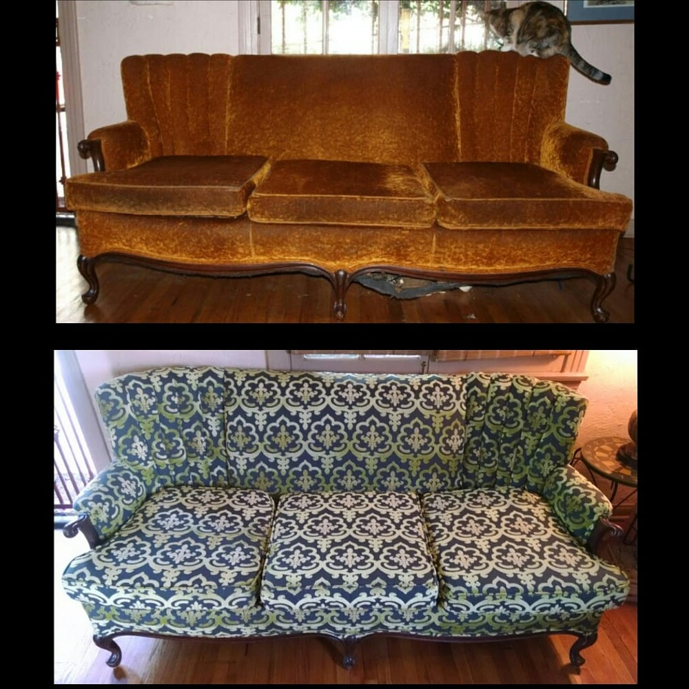 Photo Of Master A1 Upholstery   Los Angeles, CA, United States. Vintage Sofa