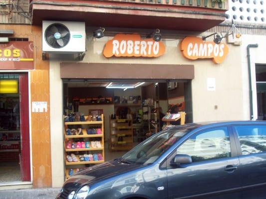 6 Calle Leon Xiii Campos Zapaterías Roberto Macarena Sevilla RUqzX6xwf