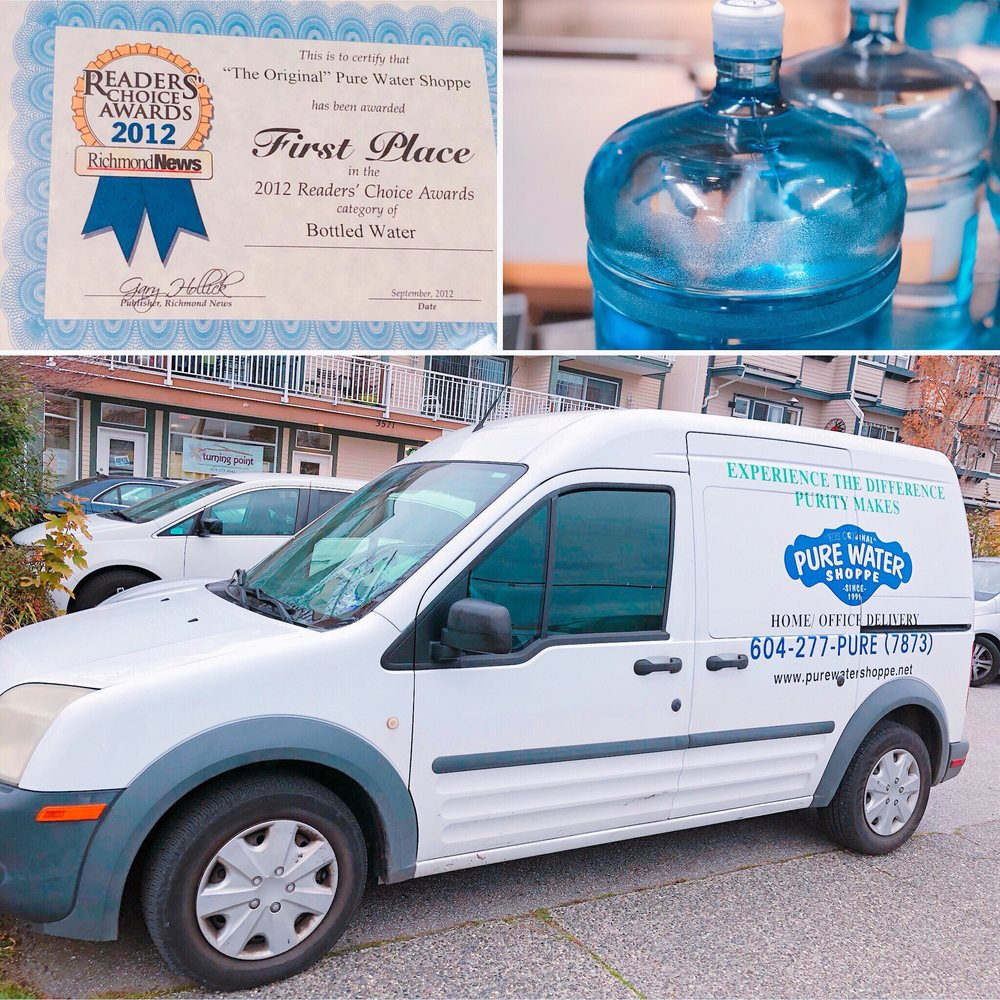 Pure Water Shoppe - Water Stores - 3571 Chatham Street, Steveston ...
