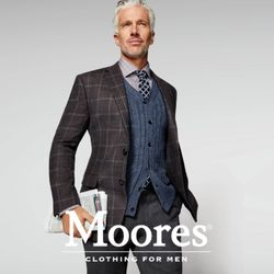 Moores menswear coupons