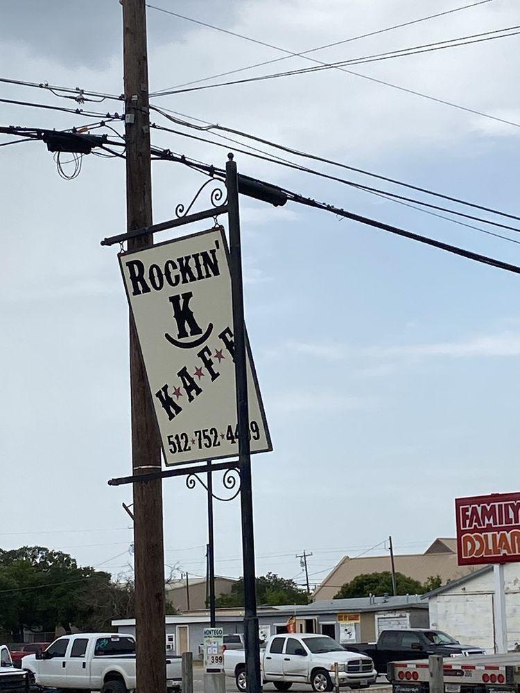 Rockin K Kafe: 215 S 4th St, Lometa, TX