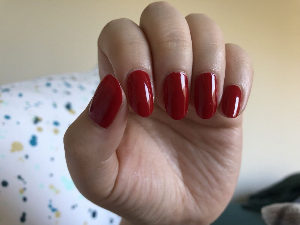 Got a manicure done with Cheng Friday and I\'m really happy with the ...