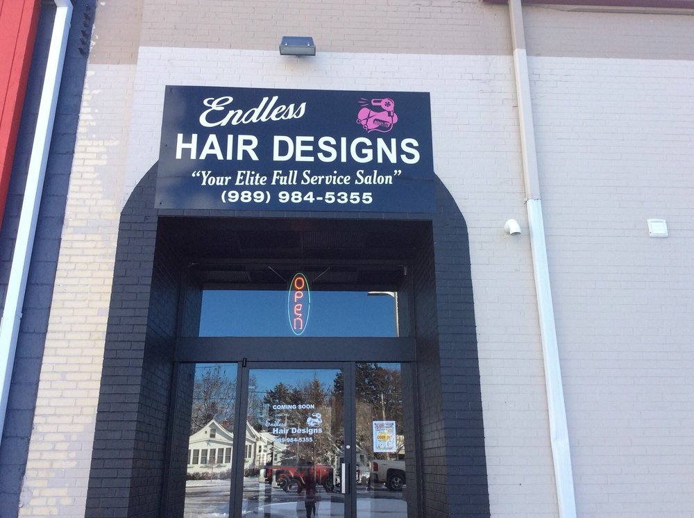 Endless Hair Designs: 115 Newman St, East Tawas, MI